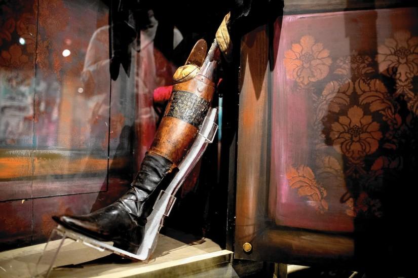 Santa Anna's leg